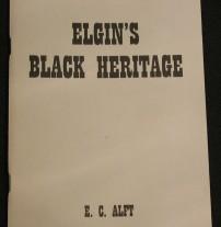 Elgin's Black Heritage book