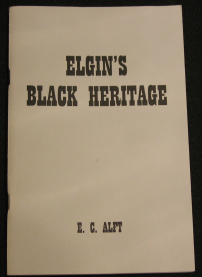 Elgin's Black Heritage book