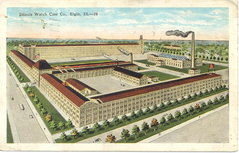 Watch Case Co. postcard