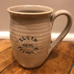 Stoneware pottery Elgin coffee mug