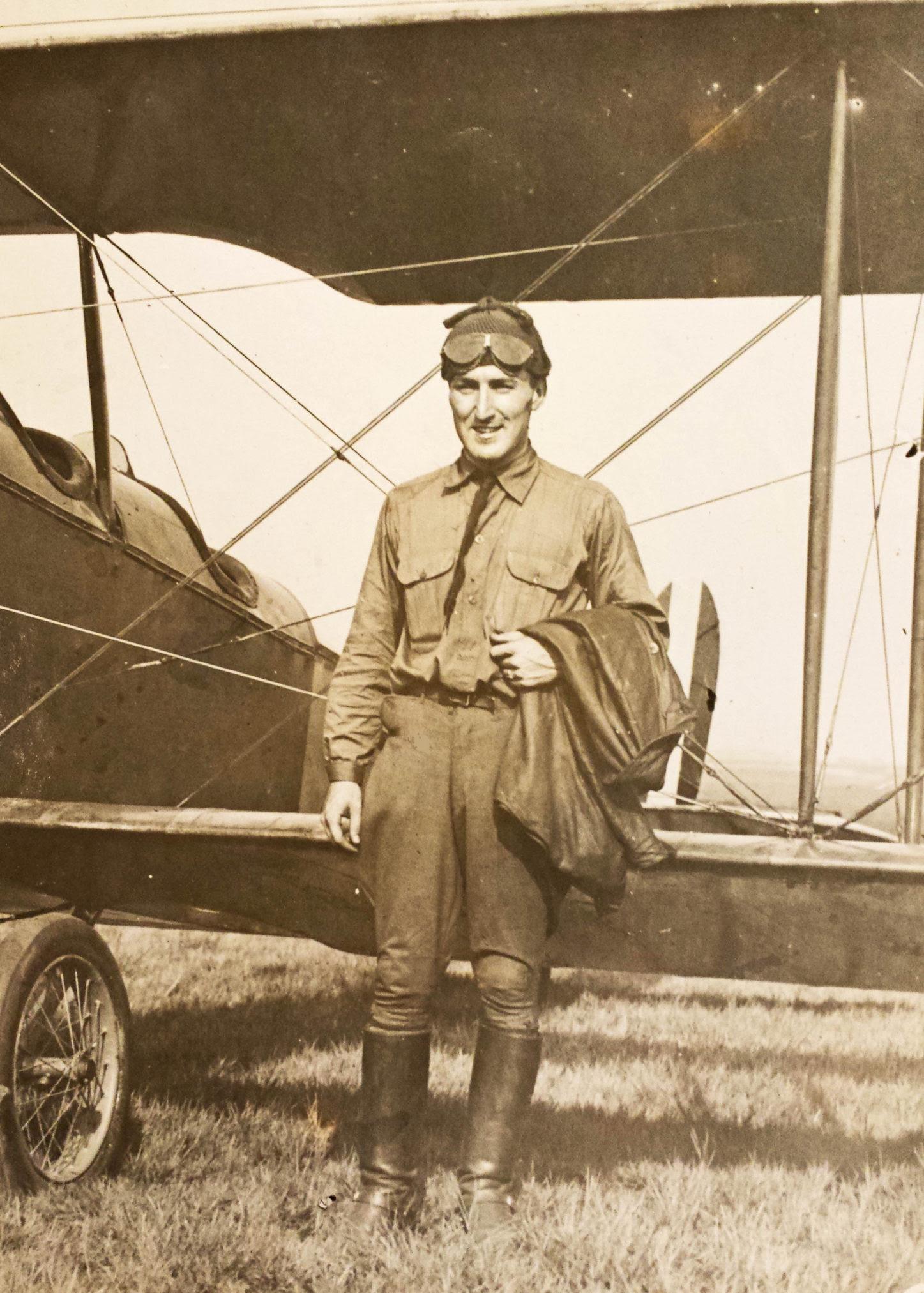 Anson Clark, Mineola, August 4, 1918