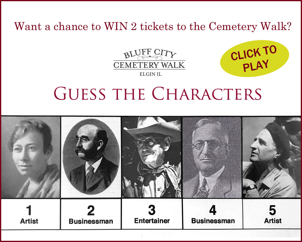 Win tickets to the Cemetery Walk