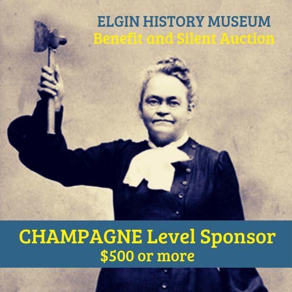 Museum Benefit Champagne Level Sponsor