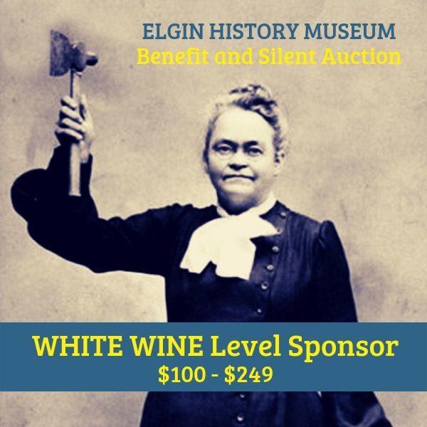 Museum Benefit White Wine Sponsor